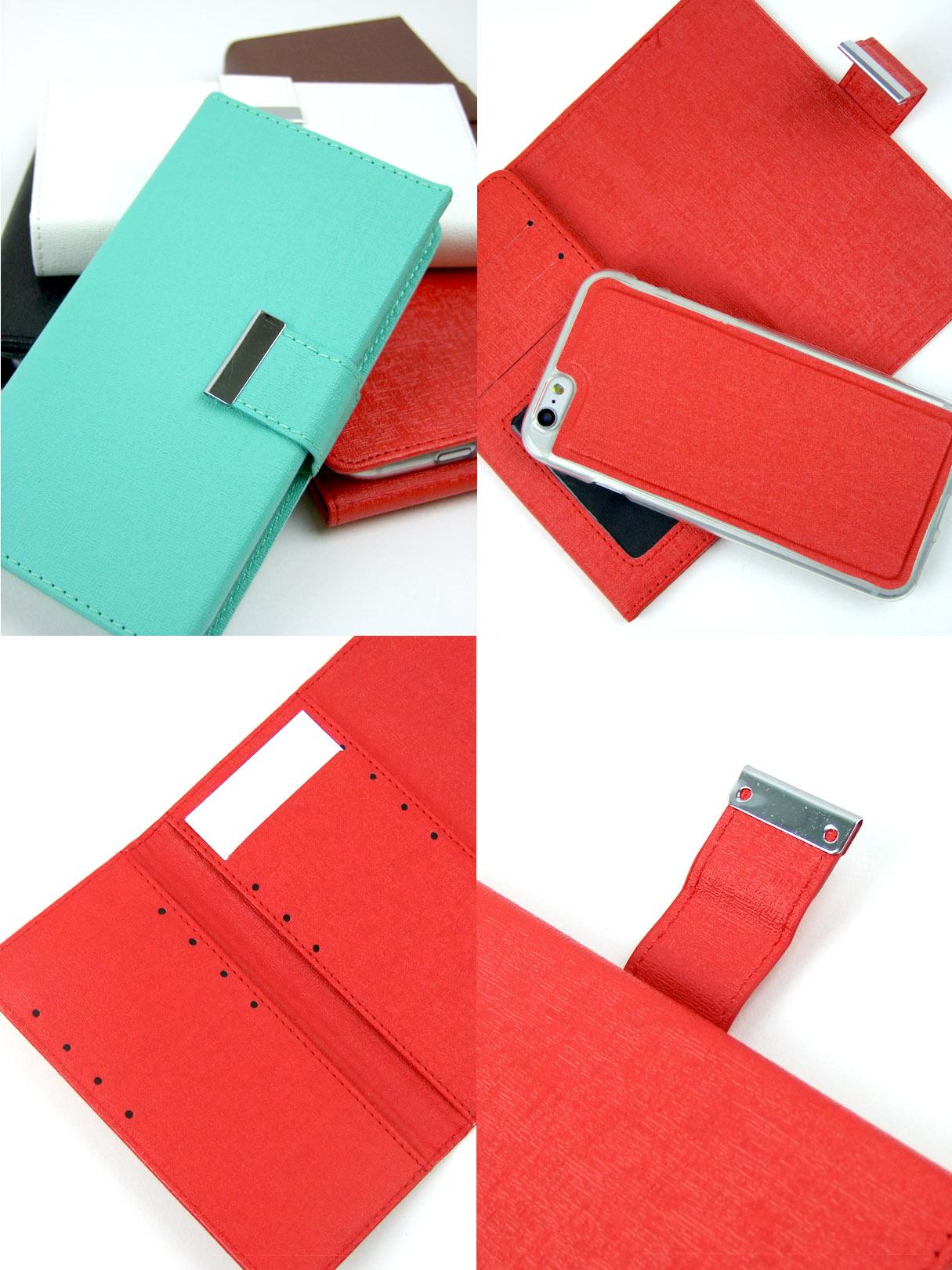 大容量カードケース付きiPhoneケース