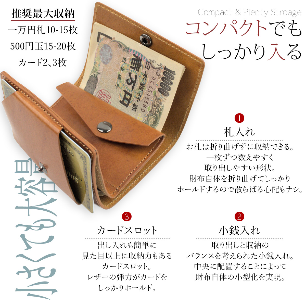 DomTepornaItaly三つ折り財布